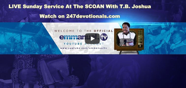 T B  Joshua Archives - Daily Inspirational devotionals
